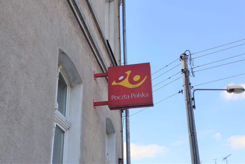 Poczta Polska - baner, logo