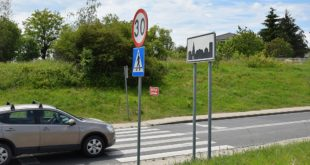 Ulica Kręta w Luboniu - ograniczenie prędkości