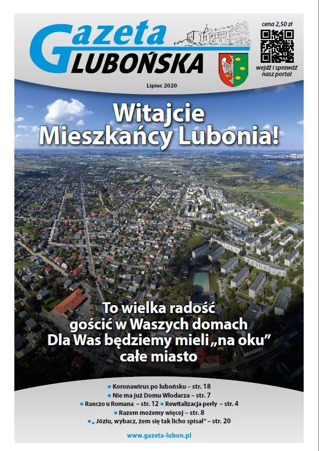 Pierwsze wydanie Gazety Lubońskiej