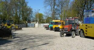 Odbudowany Dom Włodarza ma stanąć w miejscu, które obecnie firma Kom-Lub użytkuje jako zaplecze parkingowe