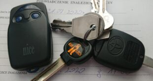 Zgubione klucze w Luboniu