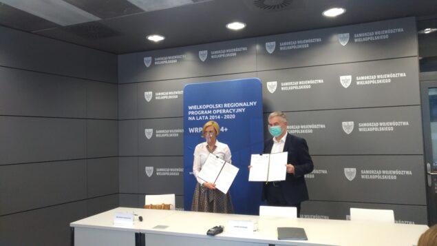 5 października, w Urzędzie Marszałkowskim podpisano umowę na dofinansowanie projektu
