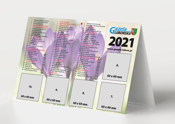 Kalendarz 2020 w Gazecie Lubońskiej