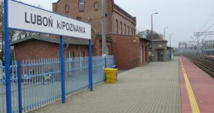 Dworzec kolejowy (PKP) w Luboniu