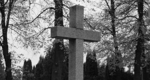 nekrolog - krzyż