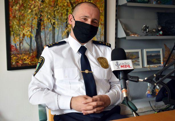 Łukasz Kołcz Komendant Straży Miejskiej w Luboniu