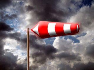 Silny wiatr - ostrzeżenie IMGW